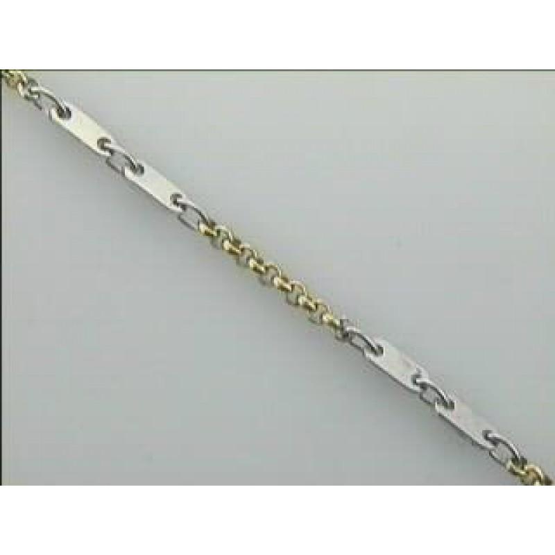 LADIES BRACELET 14K GOLD CASUAL (5.5 GM)