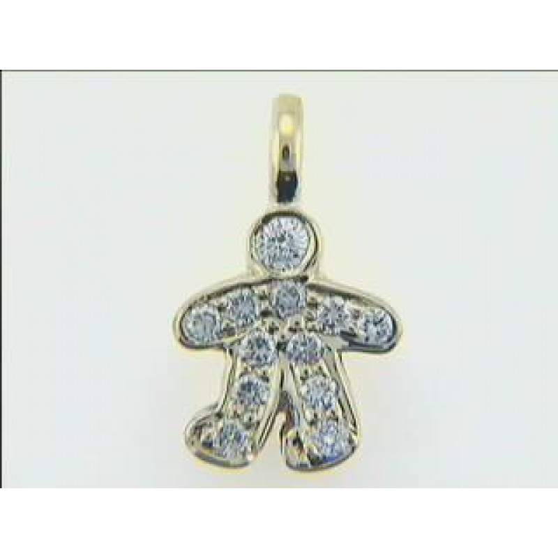 """PENDENT 14K WG w/0.38CT DIAM. """"CLOSE-OUT"""""""