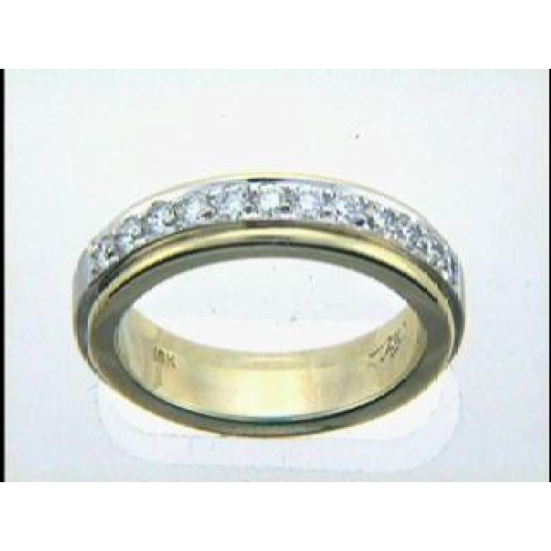 "RING 18K w/0.43CTS DIAM'S ""CLOSE-OUT"""