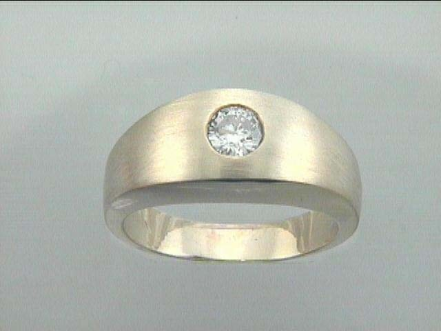 GENT'  RING 14K w/0.51CT DIAMOND