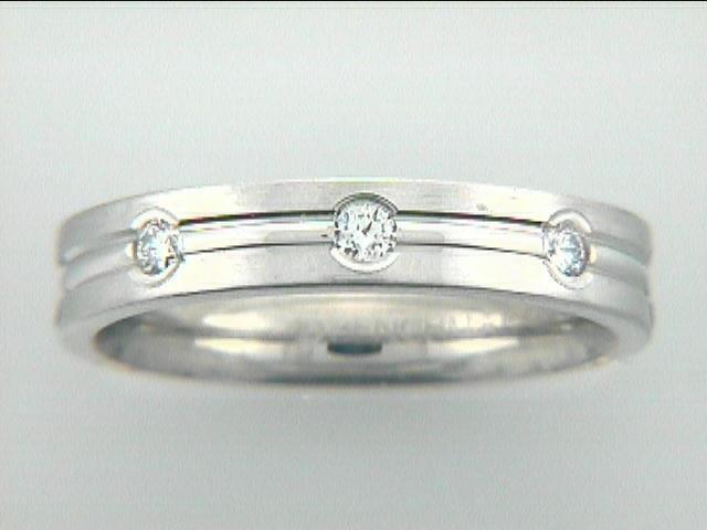 """RING 14K w/0.32CTS DIAMONDS 4MM """"CLOSE-OUT"""""""