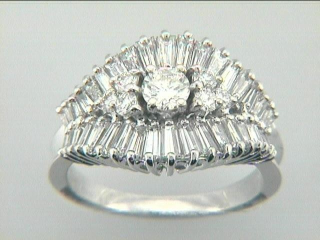 """RING  18K w/2.16CTS DIAMONDS """"CLOSE-OUT"""""""