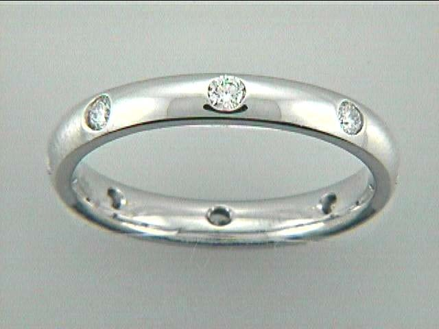 WEDDING 14K w/0.31CT DIAMONDS ETERNITY