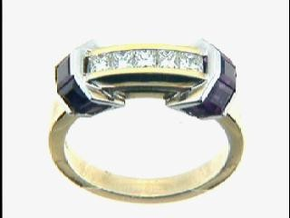 RING w/0.50CTS DIAM+1.64CT RUBY CLOSE-OUT
