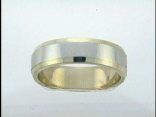 GENT'S WEDDING 14K  GOLD 6MM