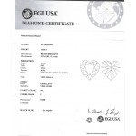 1.83 CT HEART SHAPE DIAMOND F/SI1 EGL#US920365201D