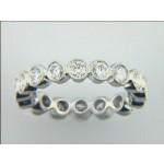 WEDDING PLATINUM w/1.45 CTS DIAMONDS ETERNITY