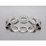 """WEDDING BAND 18K w/0.46CTS DIAMONDS """"SPECIAL ORDER"""""""