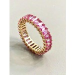 """RING 14K ROSE GOLD w/4.38 CT PINK SAPPHIRE """"SPECIAL ORDER"""""""