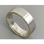 """GENT'S WEDDING BAND 14K T.T. 7MM WIDE """"SPECIAL ORDER"""""""