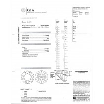 1.72 CT ROUND DIAMOND I/SI1 GIA#6121683037