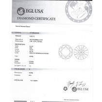 0.59 CT ROUND DIAMOND D/SI1 EGL#US908646502D