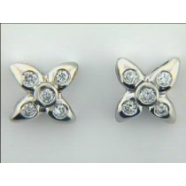 EARRING 18K w/0.44CTS DIAMONDS CLOSE-OUT