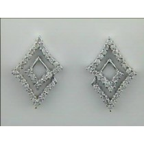 EARRING 14K w/0.45CTS DIAMONDS CLOSE-OUT