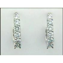 EARRING 14K w/1.14CT DIAMONDS