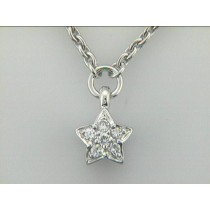 "NECK 14K w/0.15CTS DIAMONDS ""CLOSE-OUT"""