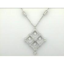 NECKLACE 18K w/3.07CTS DIAMONDS DAYTIME