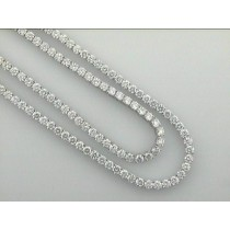"""LADIES NECKLACE w/33.18CTS DIAMONDS 34"""" LONG """"SPECIAL ORDER"""""""