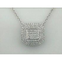 NECKLACE 18K w/1.28CT DIAMOND DAYTIME