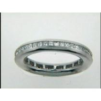 WEDDING PLATINUM w/1.24CTS DIAMONDS ETERNITY