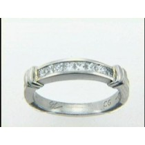 """RING PLATINUM w/0.45CTS DIAMONDS """"CLOSE-OUT"""""""