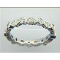 WEDDING PLATINUM w/1.01CTS DIAMONDS ETERNITY