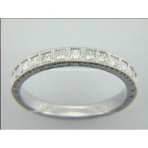 WEDDING PLATINUM  w/0.37CTS DIAMONDS RIGHT HAND