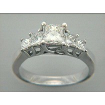 RING 18K w/0.72CT DIAMONDS (center not included)