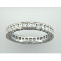 WEDDING PLATINUM w/0.92CTS DIAMONDS ETERNITY