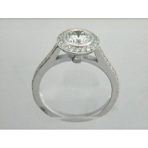 RING 18K w/0.60CT DIAMONDS (center not included)