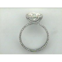 RING 18K w/1.12 CT DIAMONDS(center not included)