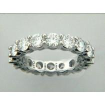 "WEDDING-PLATINUM w/5.05CTS DIAMOND ETERNITY ""SPECIAL ORDER"""