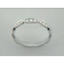 RING 18K w/0.28CT DIAMOND ETERNITY BAND