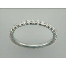 WEDDING- 18K w/2.16CT DIAMOND ETERNITY