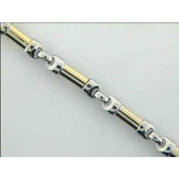 "LADIES BRACELET 14K GOLD 15.4GM ""CLOSE-OUT"""