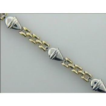 "LADIES BRACELET 14K GOLD 11.1GM ""CLOSE-OUT"""