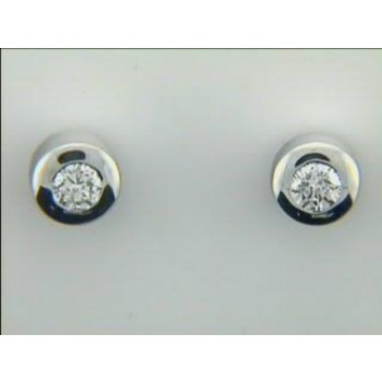 EARRING 14K w/0.16CTS DIAMONDS CLOSE-OUT