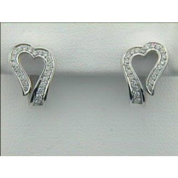 EARRING 14K w/0.35CTS DIAMONDS CLOSE-OUT