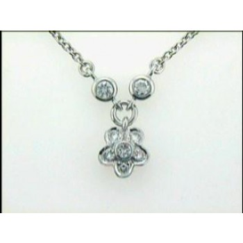 NECKLACE 14K w/0.30CTS DIAMONDS  DAYTIME