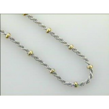 "LADIES NECKLACE 14K  GOLD DAYTIME 16"" DAYTIME"
