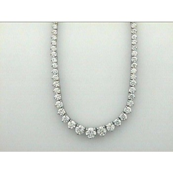 """NECKLACE 14K with 10.44CT DIAMOND 16"""" LONG """"SPECIAL ORDER"""""""