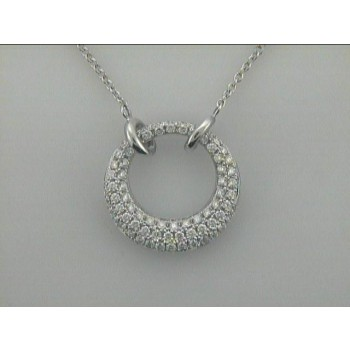 """NECKLACE 14K w/1.13CT DIAMOND """"SPECIAL ORDER"""""""