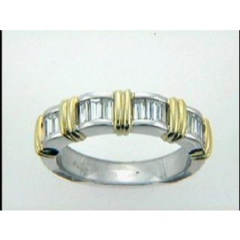 RING PLATINUM w/0.77CTS DIAM. CLOSE-OUT