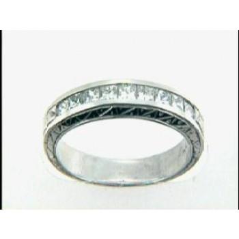 WEDDING  PLATINUM w/0.54CTS DIAMONDS RIGHT HAND