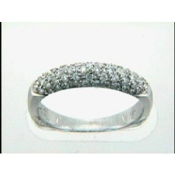 LADIES WEDDING 18K w/0.54CTS DIAM'S RIGHT HAND