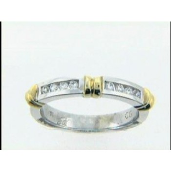 RING 18K w/0.18CTS DIAMONDS  CLOSE-OUT