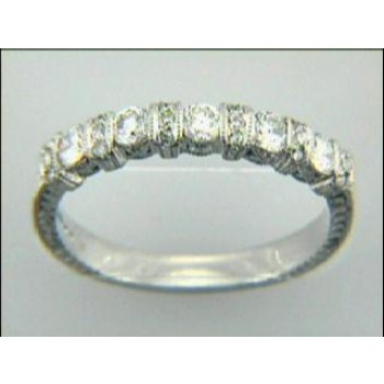 WEDDING PLATINUM w/0.45CTS DIAMONDS RIGHT HAND