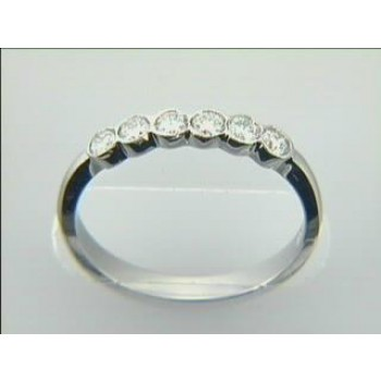 WEDDING  18K w/0.35CTS DIAMONDS RIGHT HAND