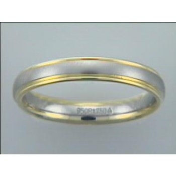 GENT'S WEDDING-PLATINUM+18K YELLOW GOLD