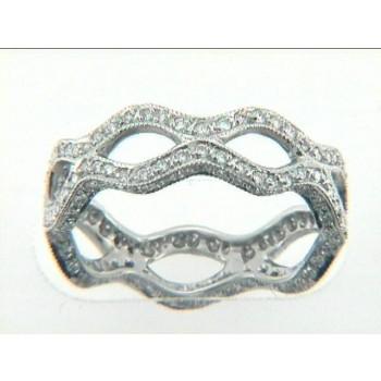 "WEDDING PLATINUM  w/1.15CTS DIAMONDS ETERNITY ""SPECIAL ORDER"""